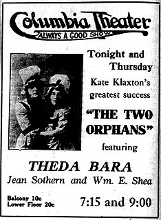 <i>The Two Orphans</i> (1915 film) 1915 film