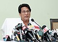 The Union Minister for Civil Aviation, Shri Ajit Singh holding a Press Conference, in New Delhi on June 01, 2012.jpg
