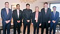 The Union Minister for Railways, Coal, Finance and Corporate Affairs, Shri Piyush Goyal with the Asian Infrastructure Investment Bank leaders, in Mumbai.JPG