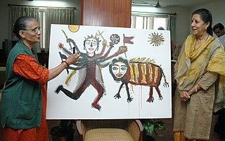 Madhvi Parekh Indian artist