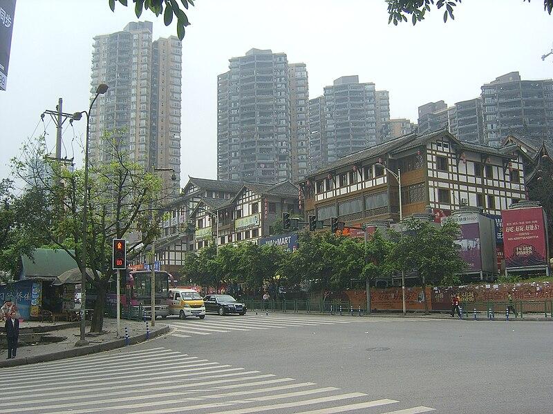 The WalMart super market at Nan%27an,Chongqing.JPG