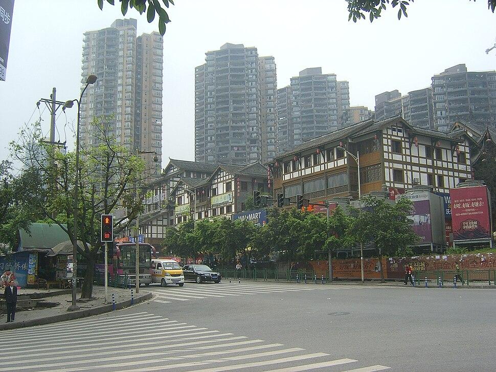 The WalMart super market at Nan%27an,Chongqing