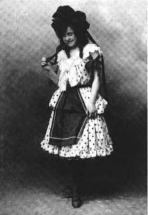 Dorothy Gale - Anna Laughlin as Dorothy in the 1902 musical