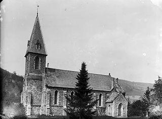 The church, Pontfadog