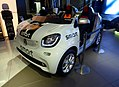 The frontview of smart fortwo (DBA-453342) used as Hanshin Koshien Stadium Relief Car.jpg