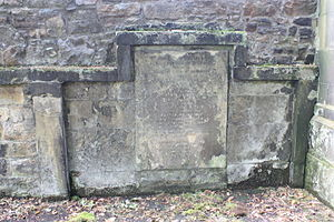 Alexander Gordon, Lord Rockville - The grave of Alexander Gordon, Lord Rockville, St Cuthberts churchyard, Edinburgh