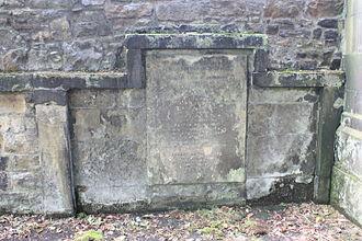 Alexander Gordon, Lord Rockville - The grave of Alexander Gordon, Lord Rockville, St Cuthberts churchyard, Edinburgh