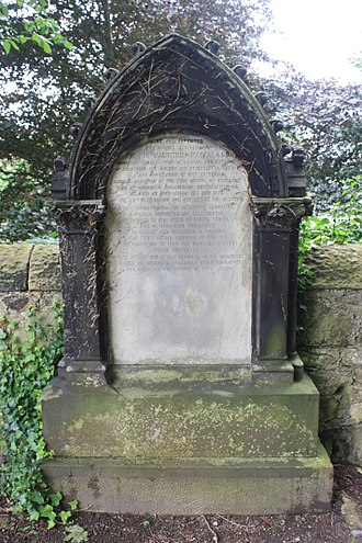 Mackintosh MacKay - The grave of Very Rev Mackintosh MacKay, Duddingston Kirkyard
