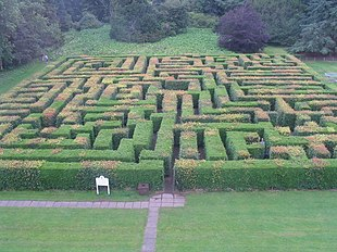 Labirinto di siepi wikipedia for Giardino labirinto
