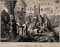 The plague in Winterthur in 1328. Lithograph by A. Corrodi, Wellcome V0010584.jpg