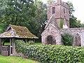 The ruined church of St. John the Baptist, Llanwarne - geograph.org.uk - 951595.jpg