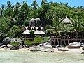 The south end of Sairee beach, Koh Tao, Thailand.jpg