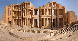 Sabratha city in Libya