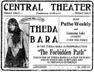 <i>The Forbidden Path</i> 1918 film