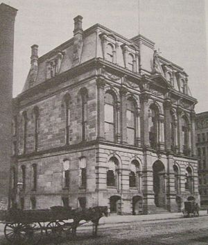 Cuyahoga County Courthouse - Image: Third cuyahoga courthouse