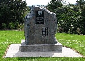 Dunedin Northern Cemetery - Memorial to Thomas Bracken at Dunedin's Northern Cemetery.