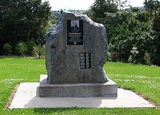 Thomas Bracken - Memorial to Thomas Bracken at Dunedin's Northern Cemetery