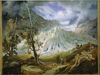 Thomas Fearnley - Image: Thomas Fearnley The Grindelwaldgletscher Google Art Project