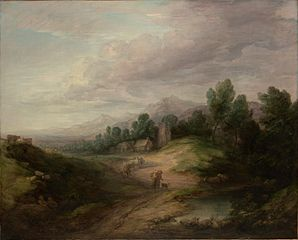 Wooded Upland Landscape