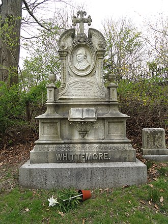 Thomas Whittemore (Universalist) - Thomas Whittemore grave, Mount Auburn Cemetery