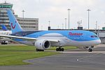 Thomson B787 Dreamliner G-TUIE (26757961060).jpg