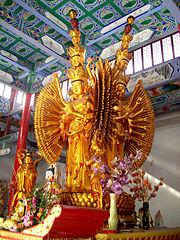 Thousand Armed Avalokitesvara - Guanyin Nunnery - 1