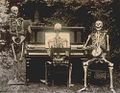 "Three skeletons ""playing"" music in 1893.jpg"