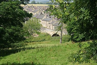 Thropton village in the United Kingdom