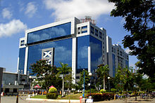 Tidel Park is one of the many software parks in Chennai.