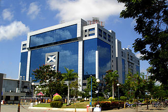 South India - The growth of information technology hubs in the region have spurred economic growth. Pictured is Tidel Park in Chennai