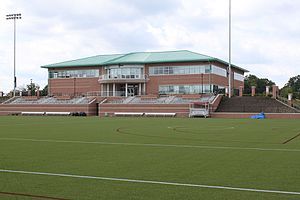 US Lacrosse - US Lacrosse headquarters features the IWLCA Building, Tierney Field and the National Lacrosse Hall of Fame and Museum.