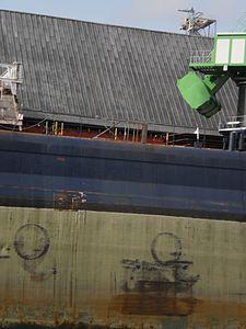 Tim S. Dool moored at the Redpath Sugar Refinery -l.jpg