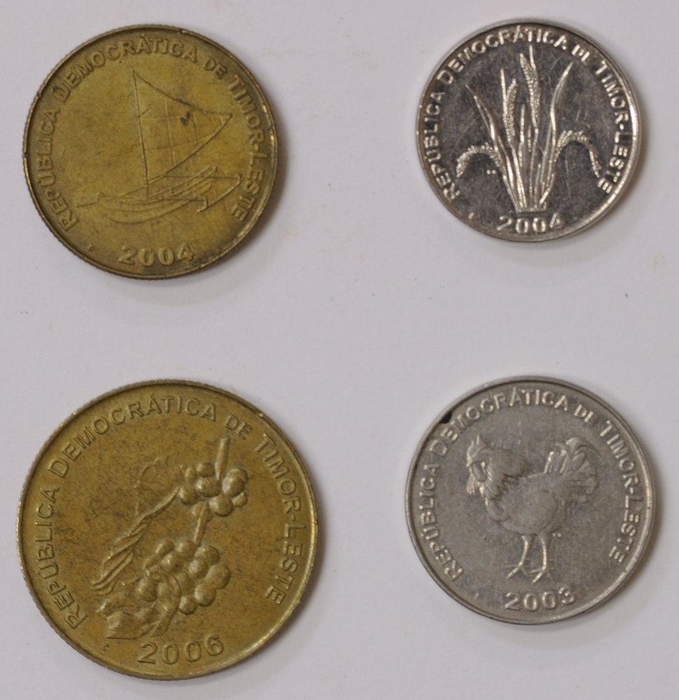 Timor Lorosa'e centavo coin -2