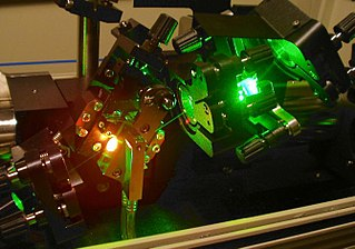 Ti-sapphire laser