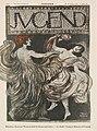 Titelblatt der Zeitschrift Jugend 1897, Nr. 38 nach Franz von Stuck.jpg