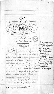 <i>A Life of Napoleon</i> book about Napoleon by Stendhal