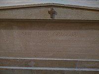 Tomb of Henri Grégoire in Panthéon.jpg