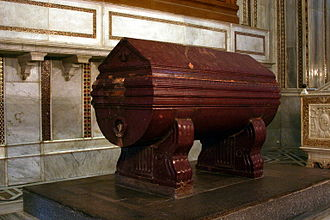 William I of Sicily - William's sarcophagus.