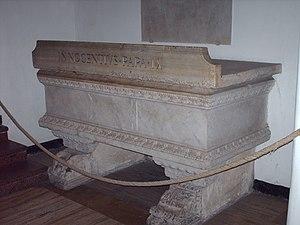 Pope Innocent IX - The tomb of Innocent IX