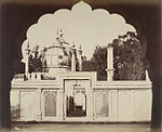 Enclosure containing the tomb of Shah Alam Bahadur Shah, Shah Alam II and Akbar Shah II