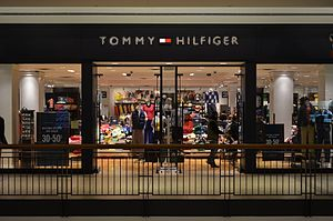 Tommy Hilfiger (company) - Tommy Hilfiger storefront inside a mall in 2014