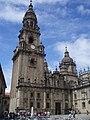 Torre del reloj de la Catedral de Santiago de Compostela.JPG