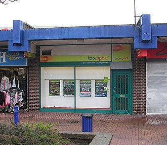 "The Tote - A branch of the Tote in Bramley, Leeds. Later called ""Betfred""; now closed"