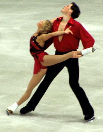Maxim Marinin - Marinin with Totmianina at the 2004 Worlds