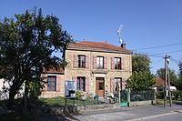 Tourcelles-Chaumont (08 Ardennes) - la Mairie - - Photo Francis Neuvens lesardennesvuesdusol.fotoloft.fr.JPG
