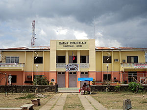 Guinayangan - Town Hall of Guinayangan