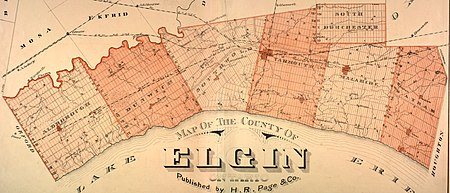 Townships of Elgin County (1877)