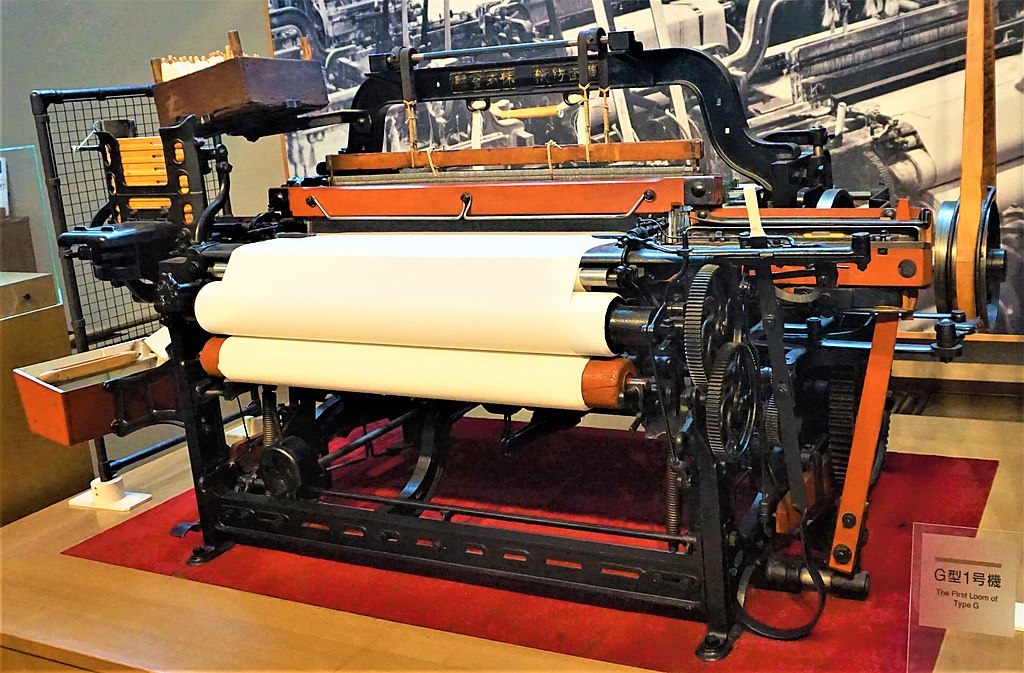 Toyoda Automatic Loom - Joy of Museums - Toyota Commemorative Museum of Industry and Technology