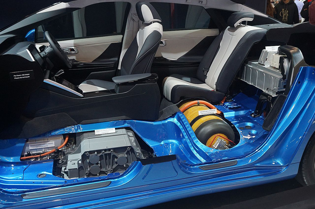 File Toyota Mirai Fuel Cell Stack Hydrogen Tank And