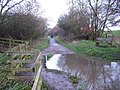 Trackbed of Old Railway near Great Oxendon - geograph.org.uk - 301376.jpg